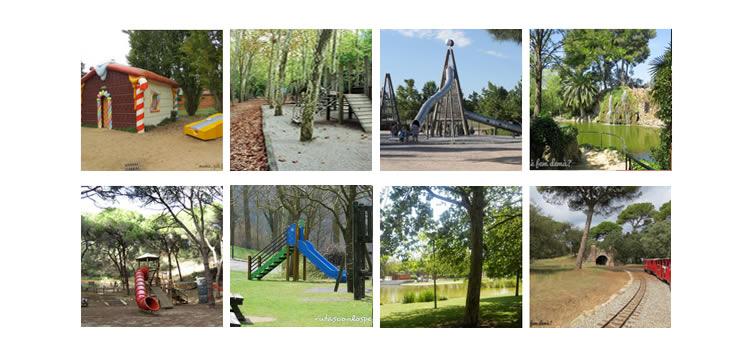 parcs infantils de Catalunya