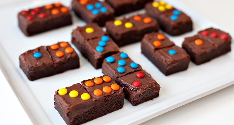 pastissos a trossets per a una festa infantil