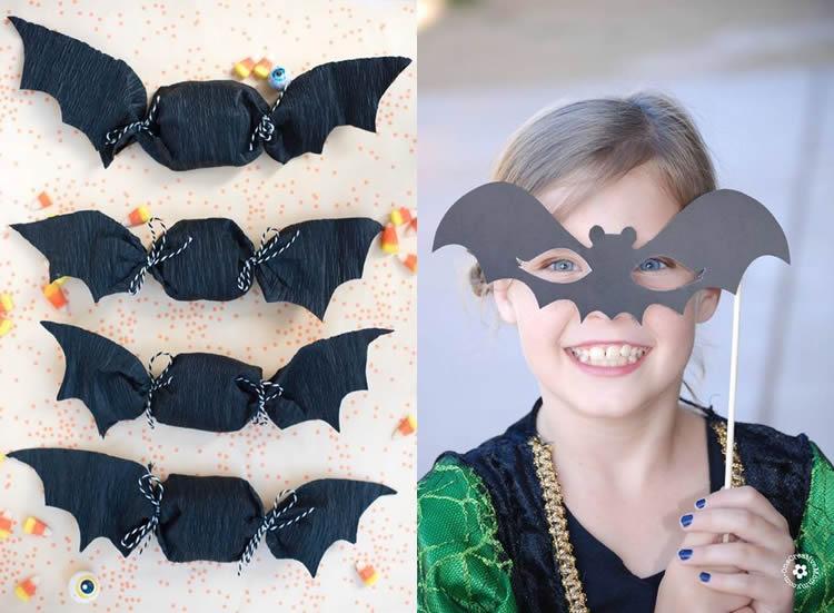 5 ratpenats per a Halloween per fer a casa