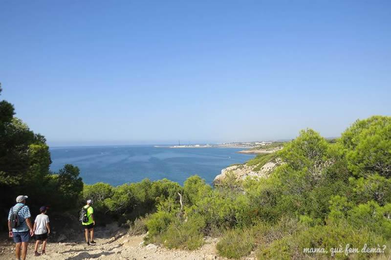 Camí de Ronda de Sitges a Vilanova i la Geltrú