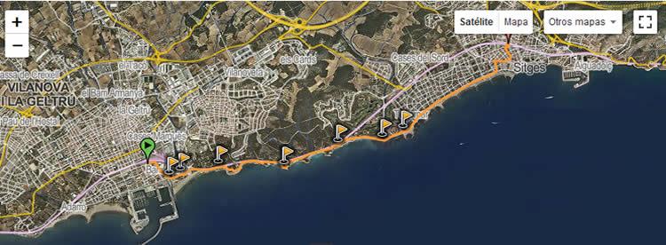 Camí de Ronda de Sitges a Vilanova