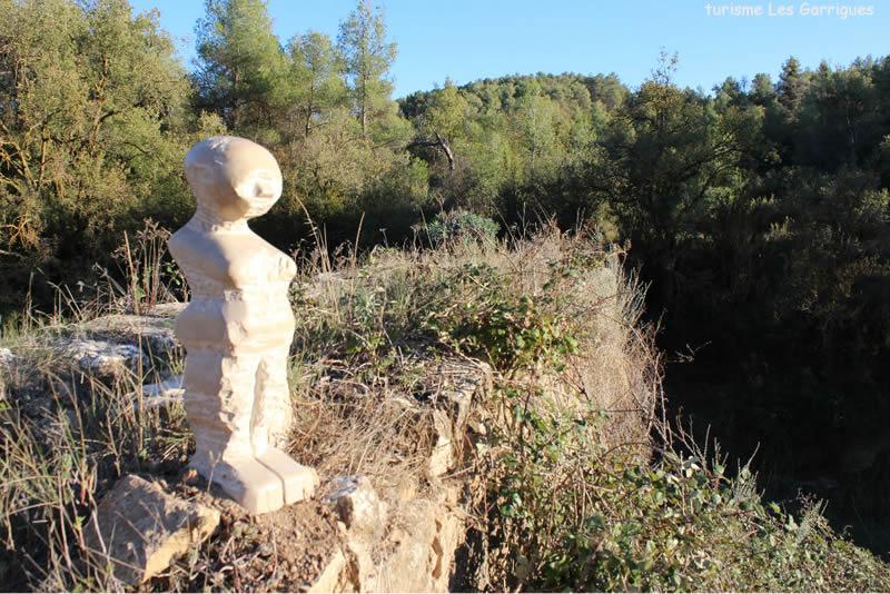 El cami dels set sentits a Cervia de les Garrigues