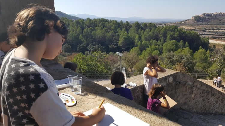 Family Arts Experience, el paisatge del Genis