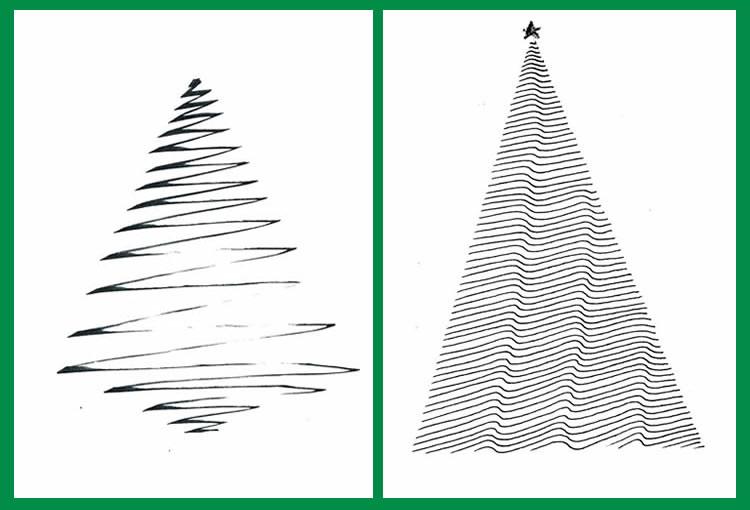 Felicitacions de Nadal minimalistes