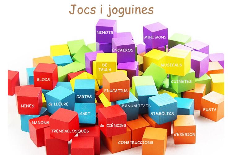 Llistat botigues de jocs i joguines a Catalunya