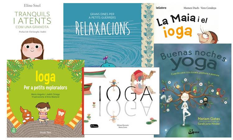 llibres de ioga per a nens