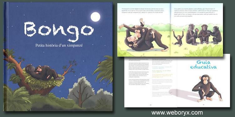 Bongo - Petita història d'un ximpanzé. Fundació Mona