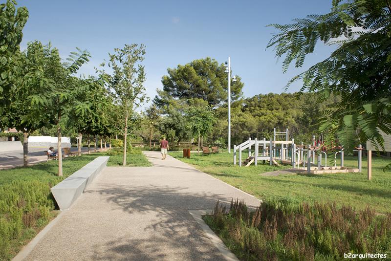 Parc de la Timba a Cervelló