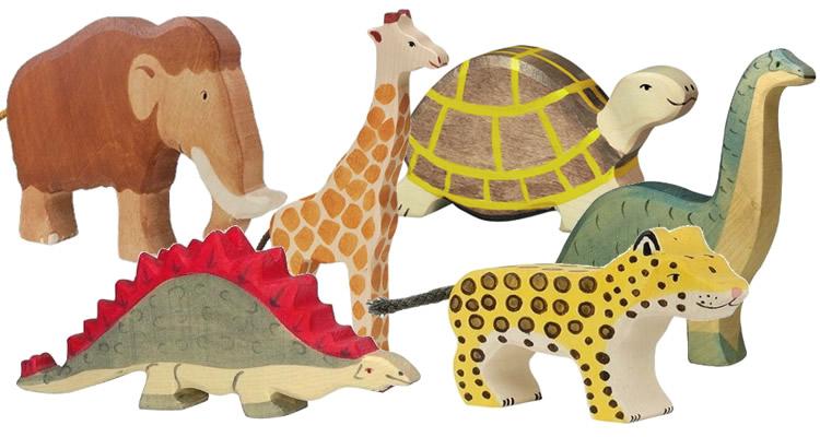 Animals de fusta Holztiger