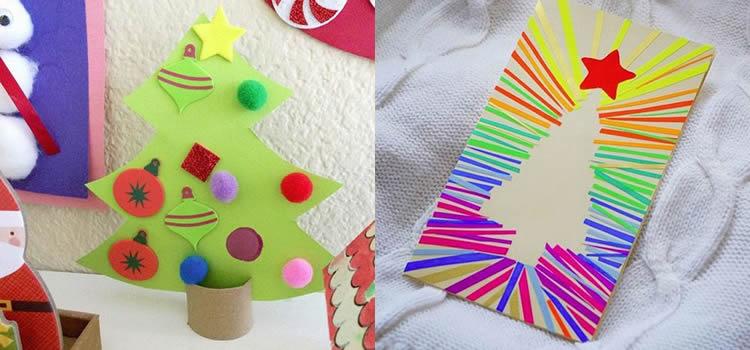 Felicitacions de Nadal per fer amb nens