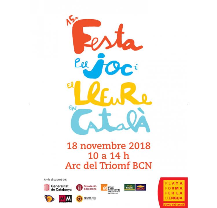 Festa pel Joc i el Lleure en Català
