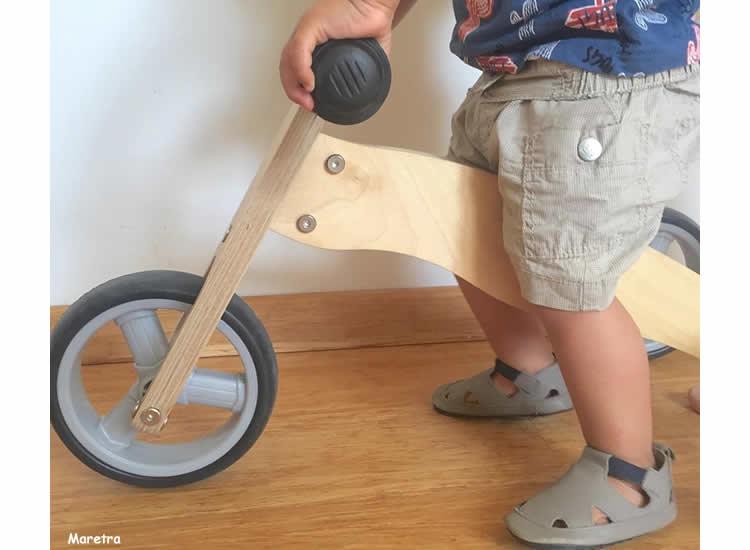 del tricicle a la bici de dues rodes