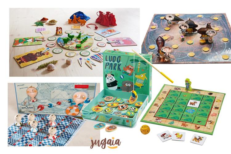 els jocs de taula per als més petits a Jugaia