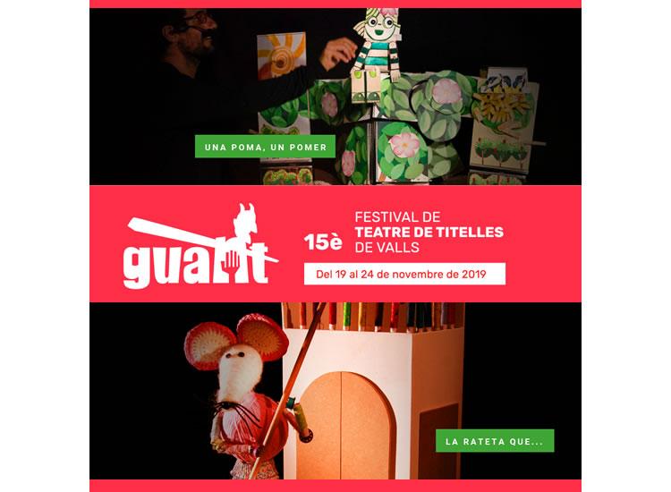Festival internacional de teatre de titelles Guant 2019