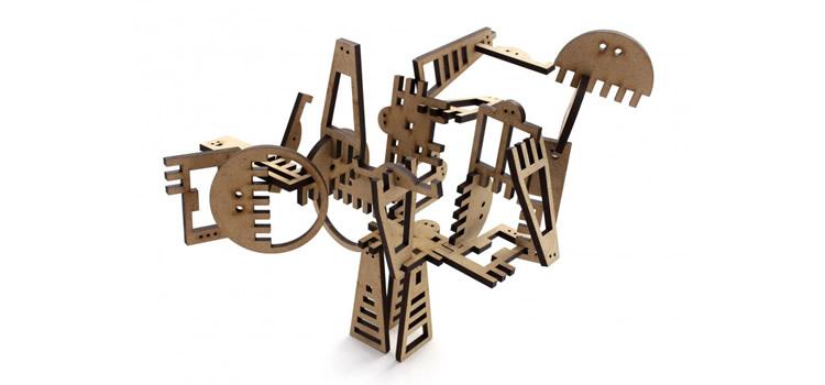 Palosters, peces de fusta per fer escultures