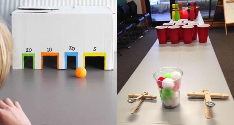 jocs per jugar dins de casa en una festa infantil