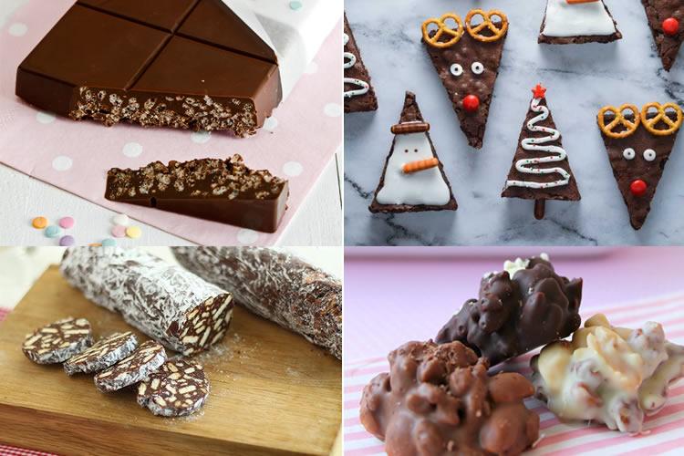 receptes de Nadal amb xocolata
