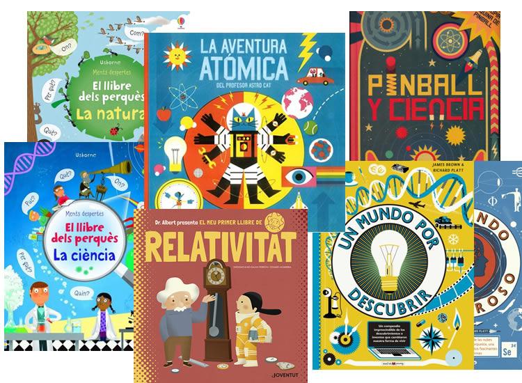 5 llibres per a nens amb esperit curiós i científic