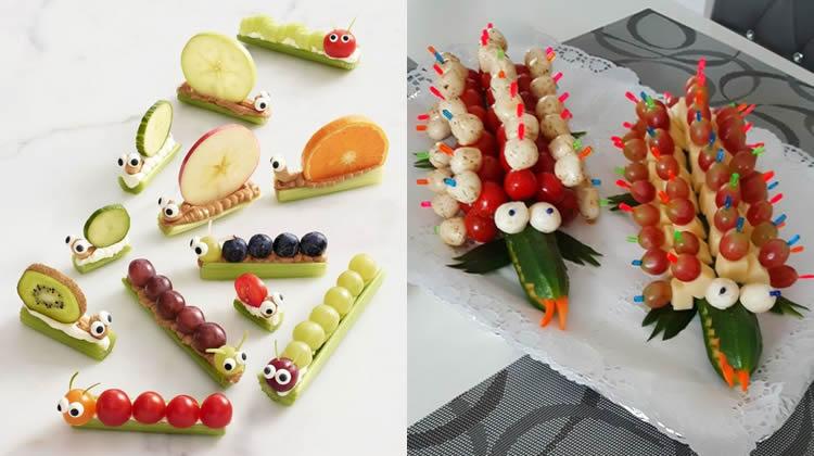 creatius pica-pica per a una festa infantil