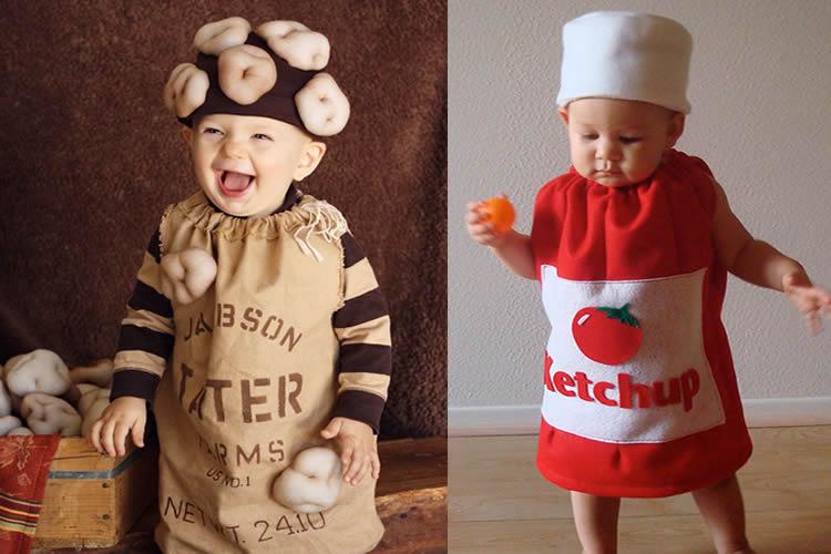 disfresses infantils de menjar