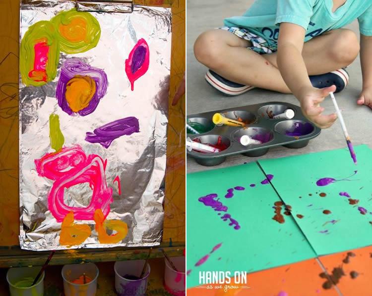 tecniques per a petits artistes