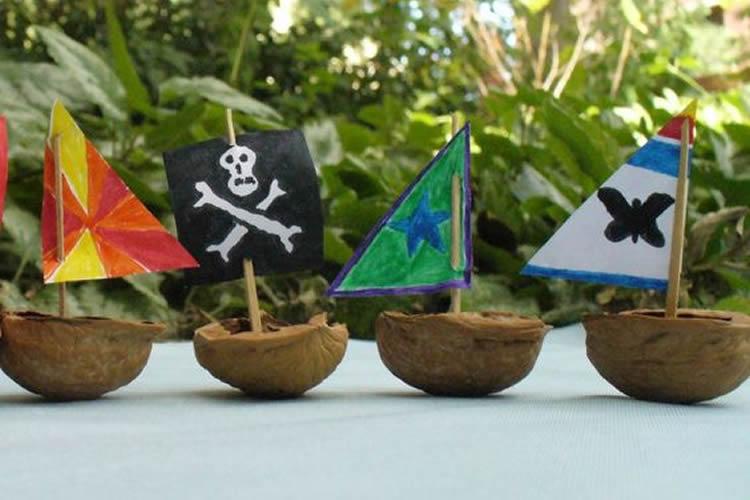 creatius vaixells en una nou