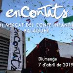 mercat del conte infantil de Balaguer 2019