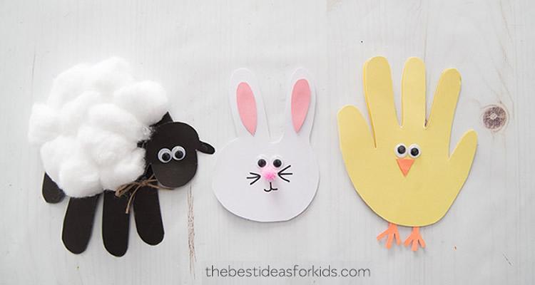 preparant la Pasqua amb nens