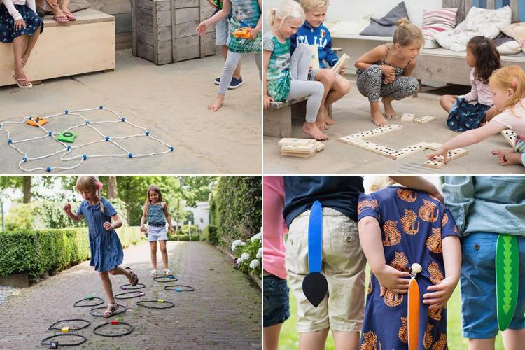 4 jocs per jugar a l'aire lliure