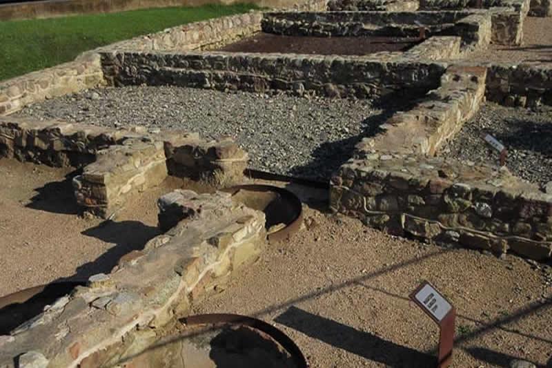restes romanes de Pla de Palol