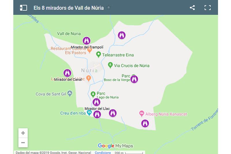 Miradors de la Vall de Nuria