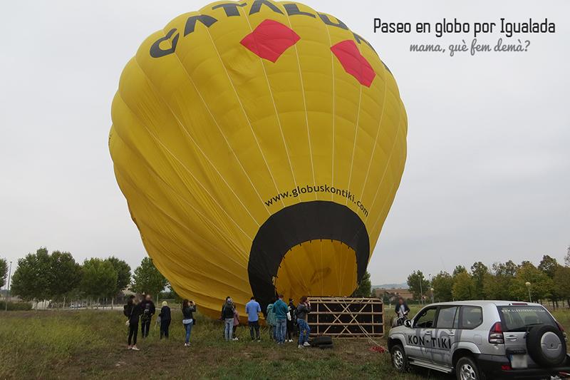 Vol en globus a l'Anoia