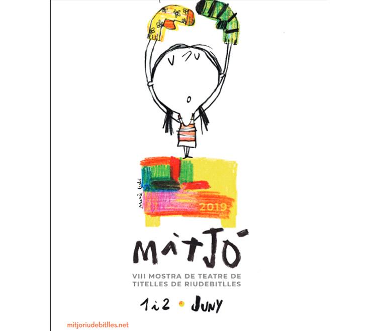 Mitjó, mostra de teatre de titelles a Riudebitlles