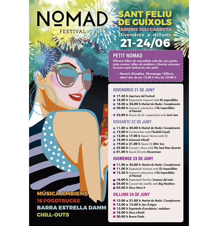 nomad festival sant feliu guixols 2019