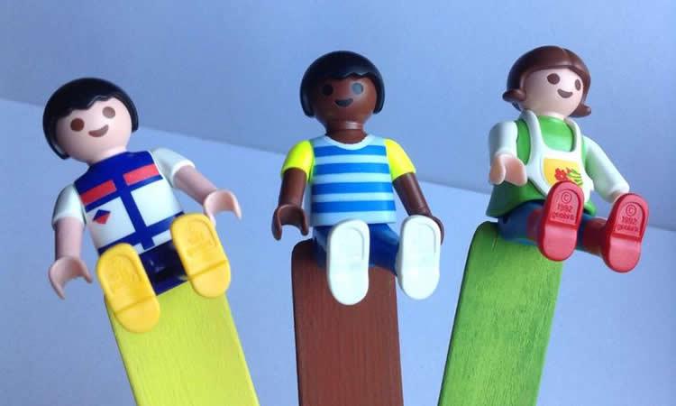 com reciclar figures Playmobil