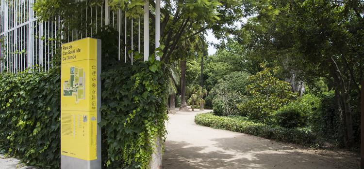 Parc de Can Solei i de Ca l'Arnús de Badalona