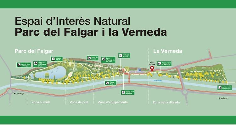 Parc del Falgar i la Verneda a les Franqueses