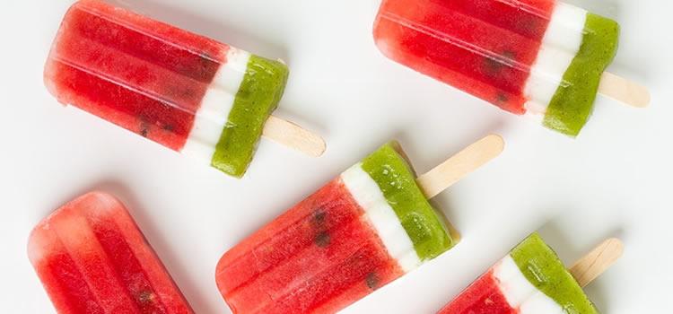 receptes gelats amb fruites d'estiu