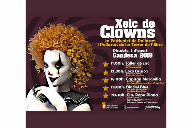 Xeix de Clowns - Festivalet de Pallassos de les Terres de l'Ebre