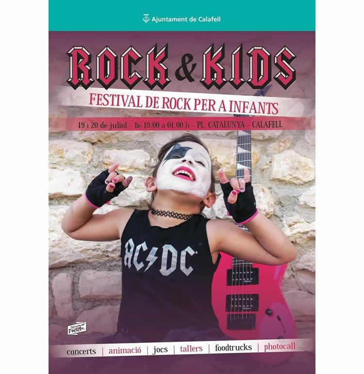 Festival Rock&Kids a Calafell