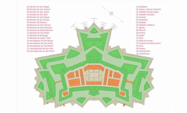 visita virtual castell de sant ferran