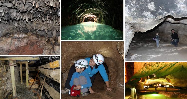 coves i mines per anar amb nens