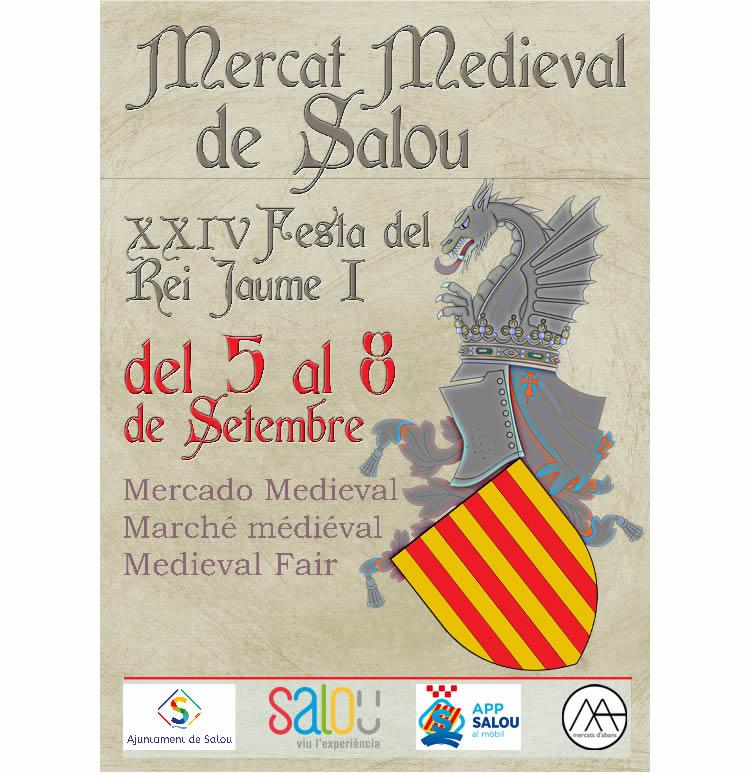mercat medieval salou 2019