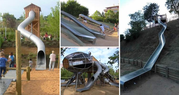 parcs amb tobogans gegants