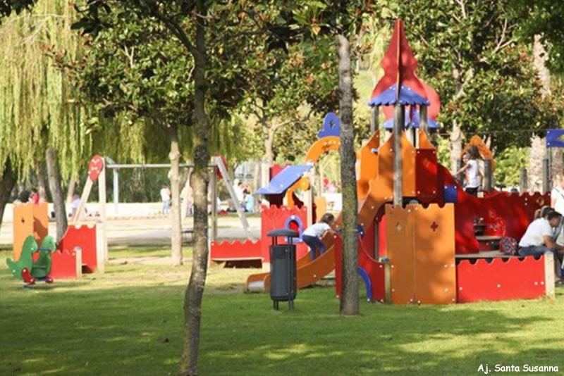 parc del colomer a santa susanna