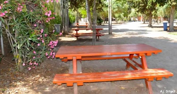 picnic Jardins Terramar de Sitges