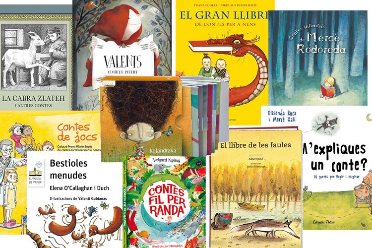 10 llibres de contes
