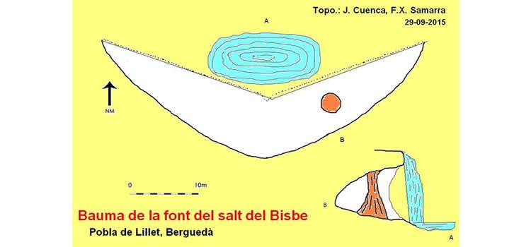 Font del Bisbe a la Pobla de Lillet