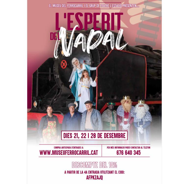 L'Esperit del Nadal al Museu Ferrocarril de Mora la Nova 2019