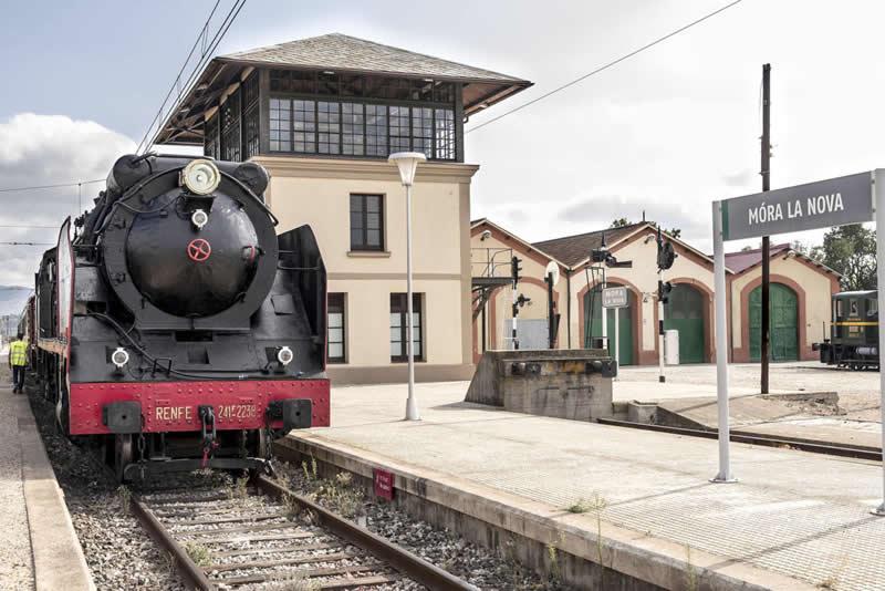 estacio Museu del Ferrocarril a Móra la Nova